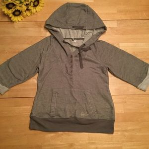 Rip curl pullover gray hoodie, size S